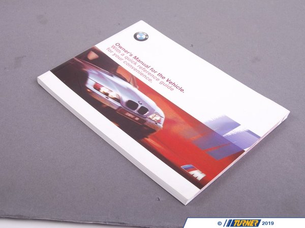 T#26430 - 01410026955 - Genuine BMW Owner's Handbook M Z3 E36/7 - 01410026955 - Genuine BMW -