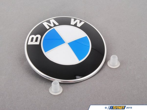 Genuine BMW Genuine BMW Hood and/or Trunk Emblem With Grommets - Fits Most BMWs 51148132375