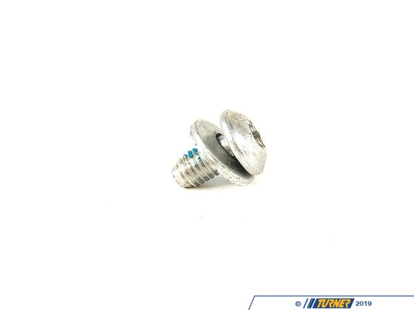 T#30076 - 07149165860 - Genuine BMW Oval Head Screw With Washer - 07149165860 - Genuine BMW -