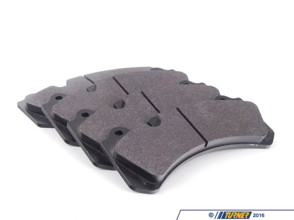 T#16498 - TMS16498 - Brembo Calipers Monobloc N, J - Race/Street Brake Pad Set - Hawk HP Plus - Hawk - BMW
