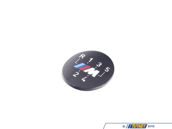 T#21774 - 25112231554 - Genuine BMW Emblem Adhered (Transparent) M - 25112231554 - E46 - Genuine BMW -