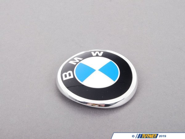 T#20079 - 51141872327 - Genuine BMW Trunk Lid Badge 51141872327 - Genuine BMW -