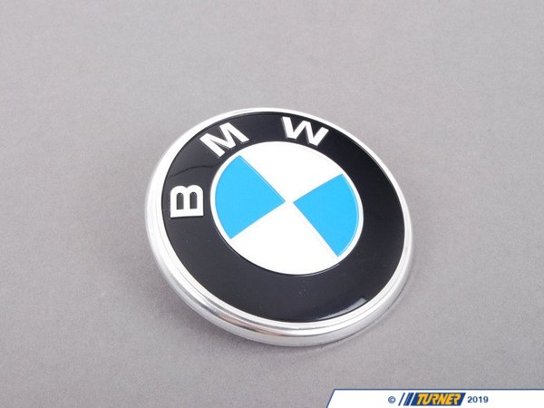 T#81070 - 51145081747 - Genuine BMW Emblem - 51145081747 - Genuine BMW -