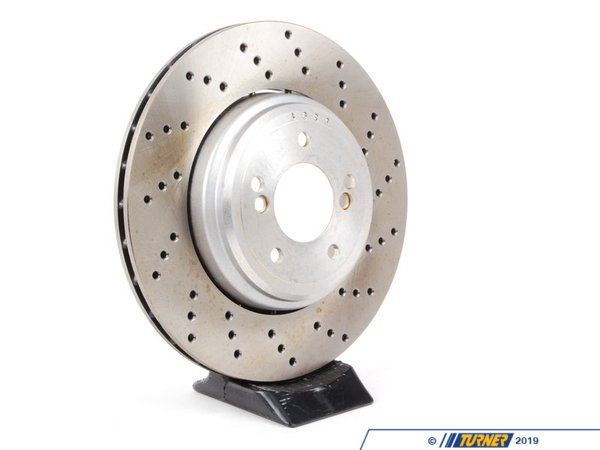 T#304240 - 34212283804 - Brake Rotor - Right Rear - Zimmermann -