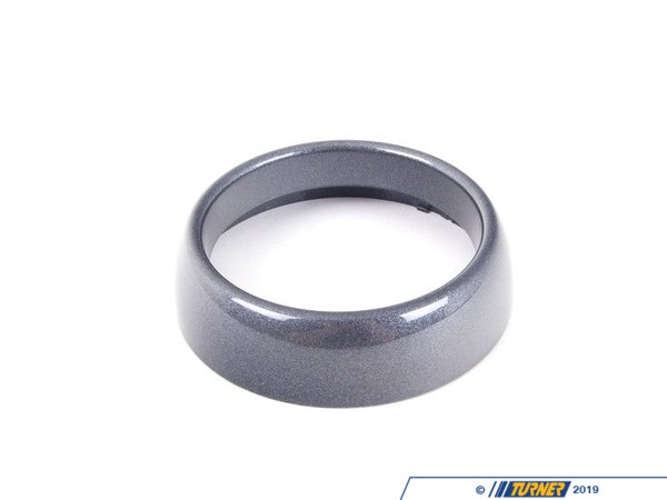 T#107358 - 51457055726 - Genuine MINI Trim Ring Anthrazit - 51457055726 - Genuine Mini -