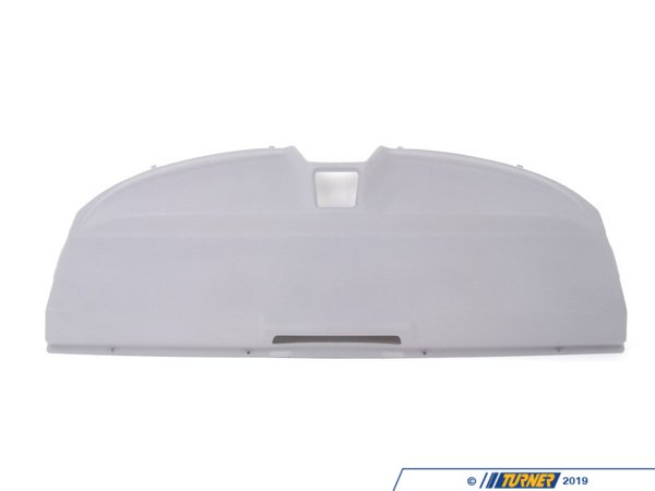 T#109542 - 51468132699 - Genuine BMW Rear Window Shelf Silbergrau - 51468132699 - E36 - Genuine BMW -