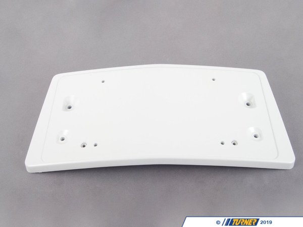 T#77001 - 51117966302 - Genuine BMW License Plate Holder - 51117966302 - E65 - Genuine BMW -