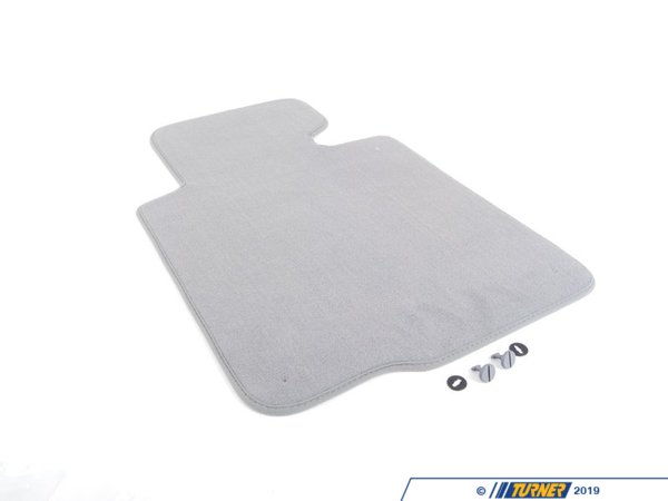 T#13892 - 51477007845 - Genuine BMW Floor Mat Velours Driver Side Grau - 51477007845 - E46 - Genuine BMW -