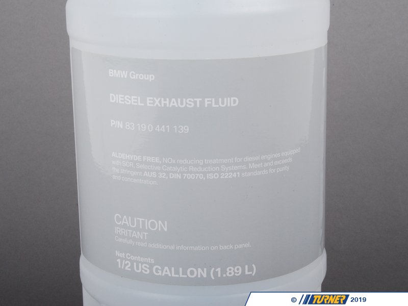 83190441139 Genuine Bmw Diesel Exhaust Fluid Adblue 1