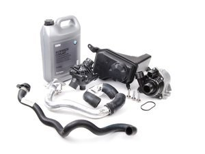 Basic Cooling System Service Kit - E82/88 E9X N54 3.0L w/ Auto or DCT Transmission