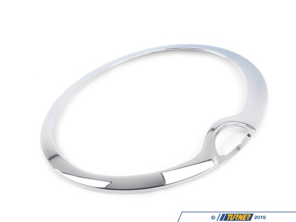 T#24464 - 63126917838 - Genuine MINI Chrome Ring, Right Headlight - 63126917838 - Genuine Mini -