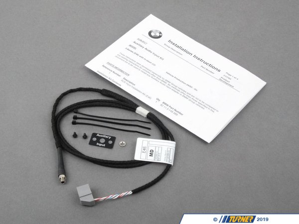 T#14215 - 82110149389 - Genuine BMW Audio Auxiliary Input - E46 2003-2006 - Genuine BMW - BMW MINI