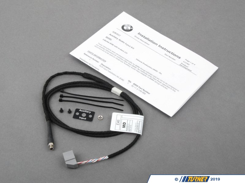 82110149389 - Genuine Bmw Audio Auxiliary Input