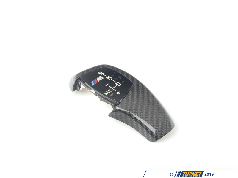 T#14340 - 61312250701 - Automatic BMW Shift Knob - F10 528/535/550i/xi - Carbon Fiber - Genuine BMW - BMW