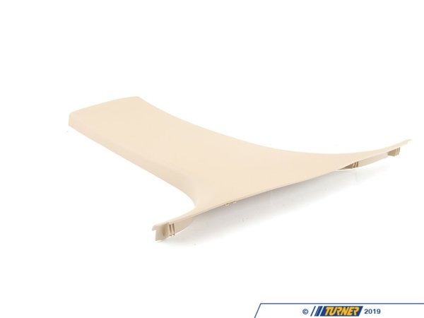 T#103589 - 51437141099 - Genuine BMW Cover, B-Column Bottom Left Beige - 51437141099 - E90 - Genuine BMW -