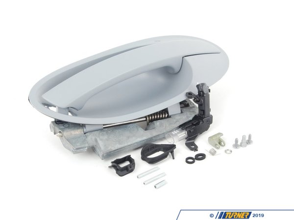 T#89298 - 51217191902 - Genuine BMW Outer Door Opener, Primed, Right - 51217191902 - E65 - Genuine BMW -