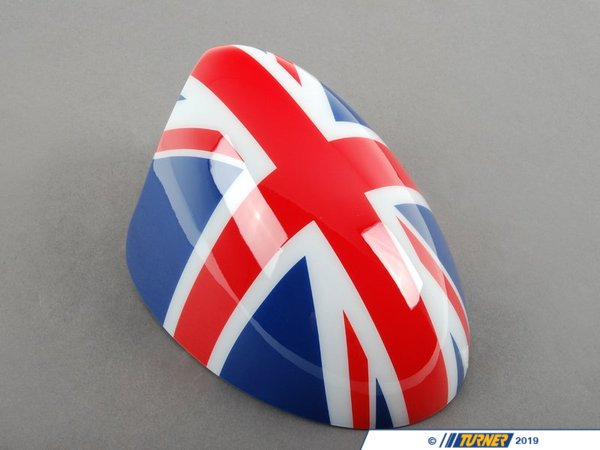 T#80543 - 51140303553 - Genuine MINI Cover, Mirror, Left Union Jack - 51140303553 - Genuine MINI -
