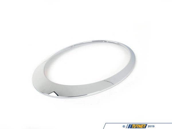 T#24461 - 63126917835 - Genuine MINI Chrome Ring, Left Headlight - 63126917835 - Genuine Mini -