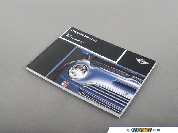 T#26361 - 01410012950 - Genuine MINI Owner's Handbook R50, R52, R - 01410012950 - Genuine MINI -