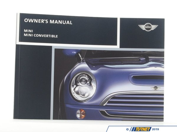 T#6350 - 01410159801 - Genuine Mini Owner's Handbook R50, R52, R 01410159801 - Genuine MINI -