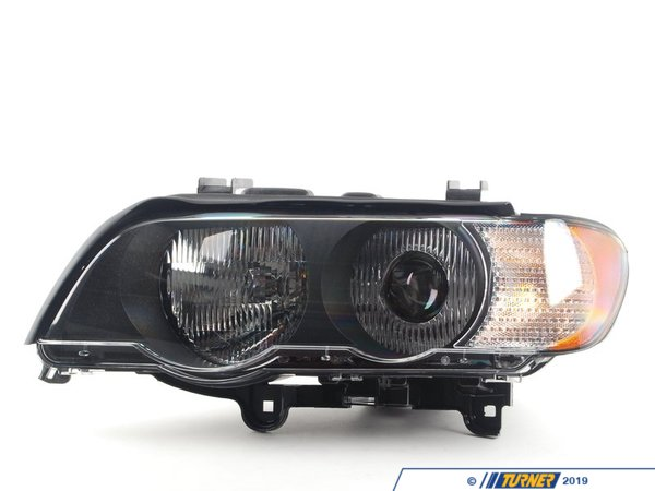 Genuine BMW Xenon Headlight With Clear Indicator - Left 63126930239