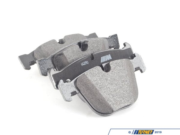 T#19701 - 34212284685 - Genuine BMW Repair Kit, Brake Pads Asbestos-Free - 34212284685 - E82 - Genuine BMW -