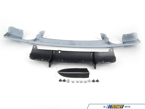 T#2235 - 51122158322 - E92 2011+ Rear Diffuser for M Sport Bumper - Genuine BMW - BMW