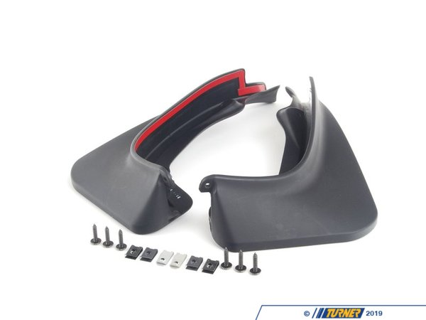 T#24930 - 82160430736 - Genuine MINI Set Mud Flaps, Rear R55 - 82160430736 - Genuine MINI -