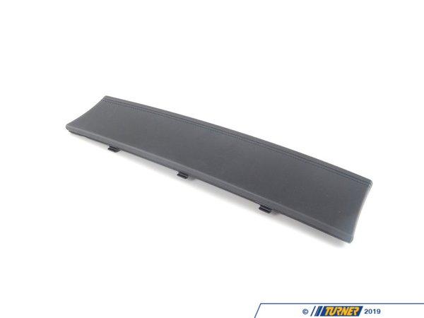 T#25315 - 51169122122 - Genuine BMW Cover, Glove Compartment, Le - 51169122122 - Schwarz - Genuine BMW -