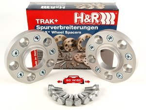 H&R 20mm Bolt-On Wheel Spacers for most BMW 5-Lug (Pair)