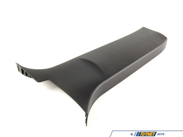 T#105050 - 51438259257 - Genuine BMW Covering Column-center Lower - 51438259257 - Schwarz - Genuine BMW -