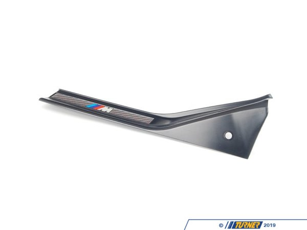 "T#110502 - 51472490041 - Genuine BMW Sill Strip Rear Left Kohlefaser ""M"" - 51472490041 - E36 - Genuine BMW -"