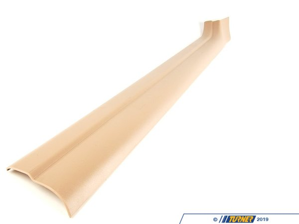 T#113231 - 51478239970 - Genuine BMW Cover Strip, Entrance, Inter - 51478239970 - Hellbeige - Genuine BMW -