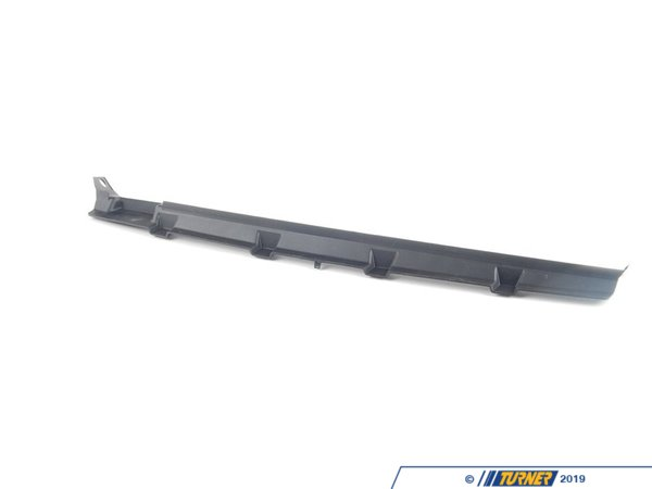 T#118088 - 51718046512 - Genuine BMW Adapter Strip, Front Panel -M- - 51718046512 - E92,E93 - Genuine BMW -