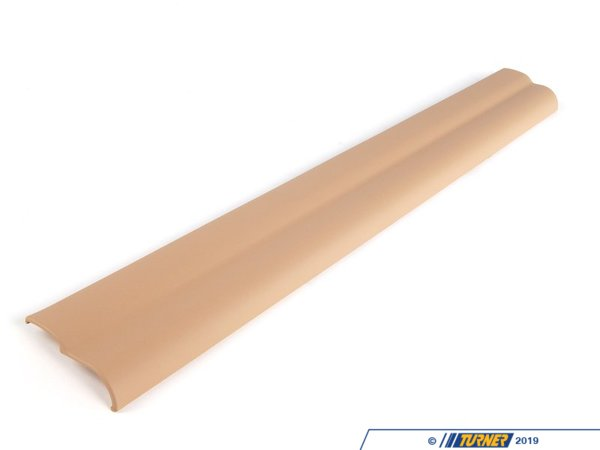 T#111260 - 51477014607 - Genuine BMW Front Left Sill Strip Beige - 51477014607 - E65 - Genuine BMW -