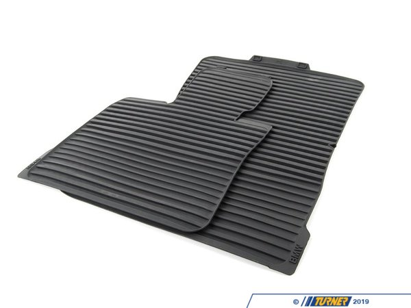 T#110436 - 51472231953 - Genuine BMW Floor Mats, All-weather, Fro - 51472231953 - Genuine BMW -