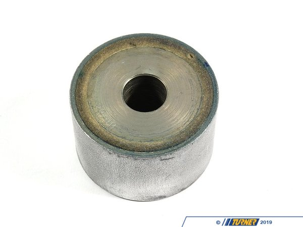 T#2215 - 33172282484 - Front Differential Mount Bushing - OEM Rubber - E46 M3, Z4 M - When working on the rear subframe, replacement of any rubber bushings and mounts should be performed. This is the front differential mount bushing and it takes the majority of the torquing motion of the diff when under load. The constant twisting will cause this bushing to wear out pretty fast. This is the Original BMW rubber part.Applications:2001-2006 E46 M3, M3 CSL coupe and convertible2007-up Z4 M Roadster, M Coupe - Genuine BMW - BMW