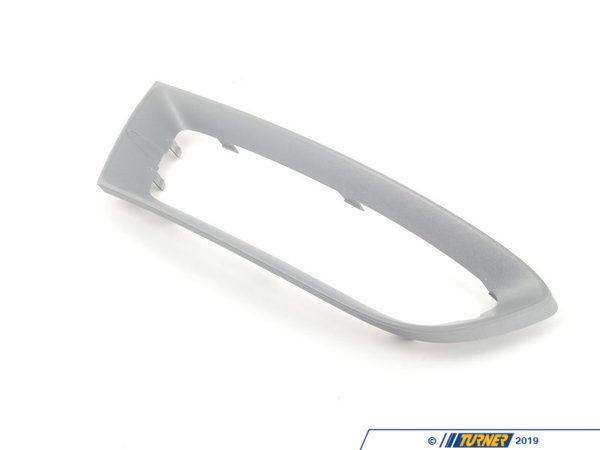 T#76536 - 51117203848 - Genuine BMW Trim Cover, Grill, Right - 51117203848 - Schwarz-Silber - Genuine BMW -
