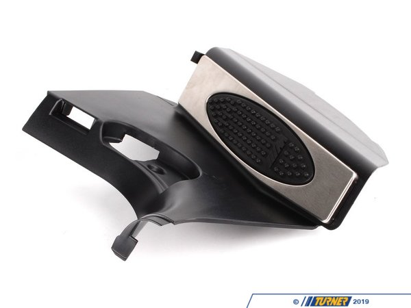 Genuine BMW Genuine BMW M Aluminum Dead Pedal - Black - E46 323i 325i 325xi 328i 330i 330xi 51437902389