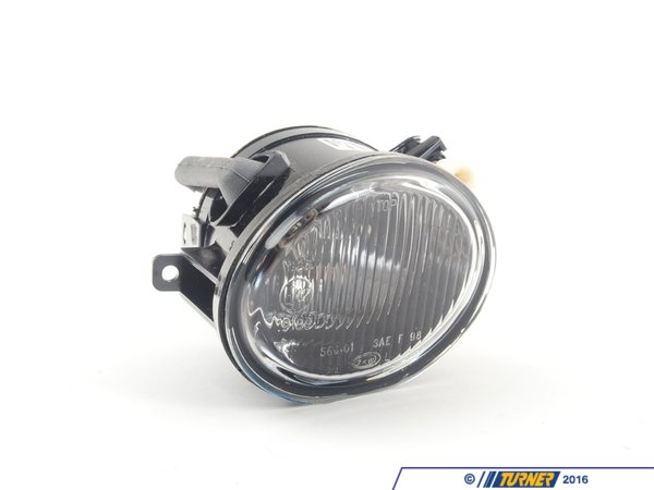 T#2950 - 63172228613 - Fog Light - Left - Fluted Lens - E46 M3, E46, E39 - ZKW - BMW
