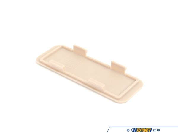 T#98649 - 51418261521 - Genuine BMW Cover F Footwell Light Cut-o - 51418261521 - Sandbeige - Genuine BMW -