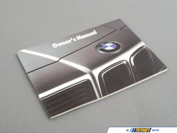 T#26897 - 01479781952 - Genuine BMW Owner's Handbook E24 - 01479781952 - Genuine BMW -