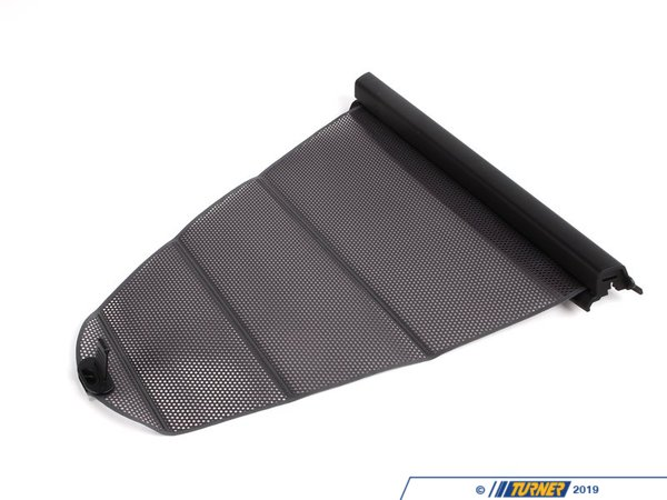 T#21013 - 51167110205 - Genuine BMW Left Rear Door Sun Blind Dunkelgrau - 51167110205 - E39 - Genuine BMW -