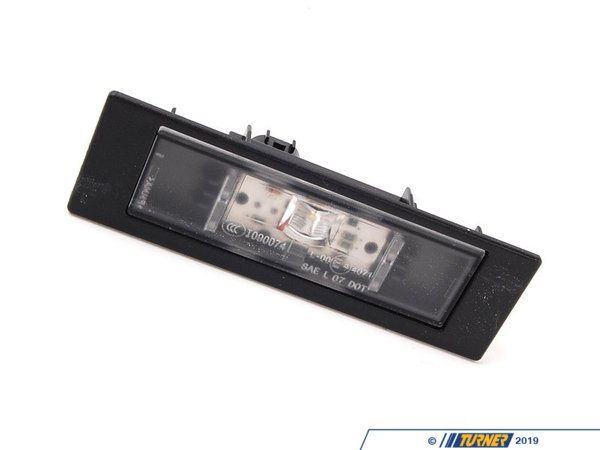 T#21383 - 63267193294 - Genuine BMW License Plate Lamp, Led - 63267193294 - E89,F06,F12,F13,i3 - Genuine BMW -
