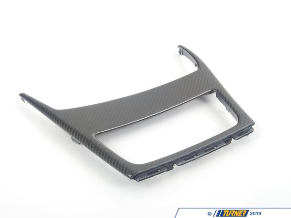 T#5158 - 51160442907 - BMW Carbon Fiber Center e82 Ashtray Surround - Genuine BMW -