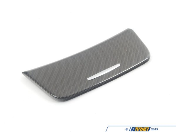 T#5099 - 51160442909 - BMW Carbon Fiber Ashtray Cover E82,E82 1M Coupe - Genuine BMW -