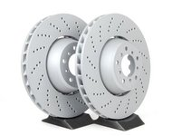 E60 M5, E63 M6 Zimmermann Front Brake Rotors - Pair (374x36)
