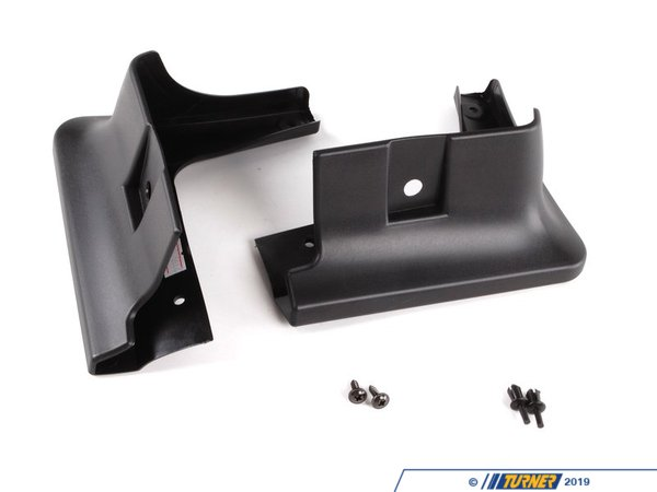 T#11417 - 82160136806 - Genuine MINI Set Mud Flaps, Front 82160136806 - Genuine MINI -