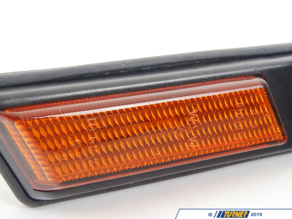 T#10886 - 63138357047 - Front Left Sidemarker Light - Amber - E36 3 series - Genuine BMW - BMW