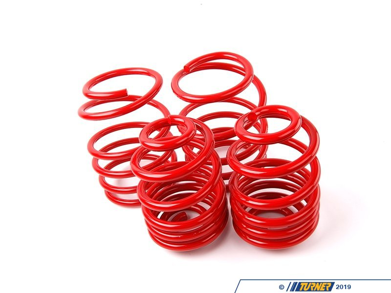 T#4107 - 50484-88 - H&R Race Spring Set - E46 Sedan/Coupe with Sport Package - H&R - BMW